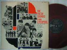 RED VINYL / THE BEATLES FRESH SOUNDS FROM LIVERPOOL DAVE CLARK FIVE HOLLIES