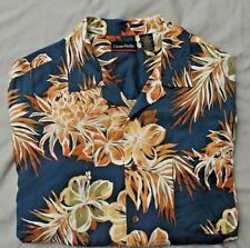 Vintage Ocean Pacific OP mens Hawaiian shirt size L FREE SHIPPING