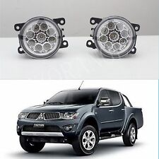 *MITSUBISHI TRITON L200 ML MN MQ HIGH POWER FULL LED FOG DRIVING LIGHTS 2006+