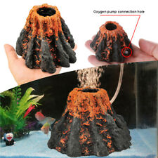 Air Bubble Stone Aquarium Volcano Shape Oxygen Pump Fish Tank Decoration 1Pcs