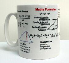 Maths GCSE / A Level School Formula Revision Exam  Gift Mug