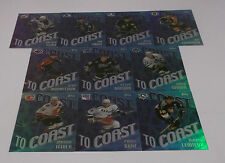 2002-03 OPC Opeechee Coast To Coast Set(10)-Lemieux, Bure, Sakic, Sundin, etc