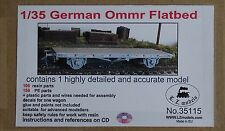 LZ models 35115 ferrocarriles rico ommr plancha vagón en 1:35