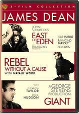 James Dean Triple Feature - 3 DISC SET (2015, DVD NEW)