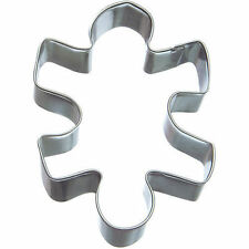 Puzzle Piece Tin Cookie Cutter 4 In. B1669 - R&M - Tin Plate Steel