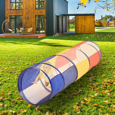 Portable Foldable Children Playing Tunnel Tent Suit Indoor Outdoor Kids Play US