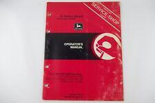 JOHN DEERE 65 RIDING MOWER Operator's Repair Manual, Service Shop Factory Shop