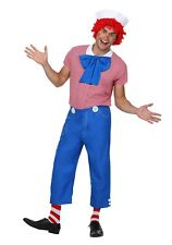 Men's Rag Doll Raggedy Andy Costume Size L (Used)