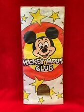 """Disney Mickey Mouse Club -Party Paper Table Cover-Birthday 60"""" X 102*NEW*VINTAGE"""
