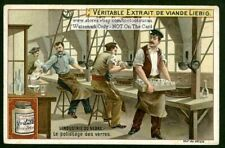 Polishing Hand Blown Glass Polissage Des Verres 1900 Trade Ad Card