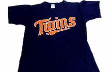 Vintage Minnesota TWINS Shirt #12 Twins Jersey Little League Baseball Youth L
