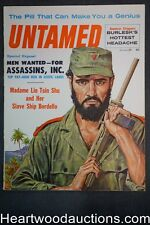 """Untamed"" January 1960 June Wilkinson, Emsh  Cvr, Madame Shu- Slave ship Bordell"