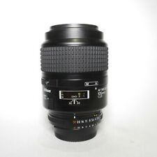 Nikon 105mm AF D f/2.8 Micro (Macro) Prime Telephoto Lens - Excellent condition!