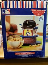 Dept. 56 Mlb Chicago White Sox Lighted Refreshment Stand And Snack Dish