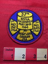 Vtg 1968 1st Maryland Calvary Civil War Skirmish Reenactment Patch 77V3