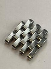 Nuovo MICHELE Decorativo CSX 36MM Chrono Acciaio Cinturino Maglie 18 MM