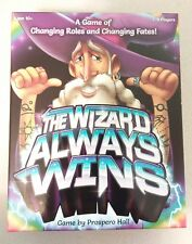 The Wizard Always Wins board Game by Prospero Hall (2017) Game Strategy and Fate
