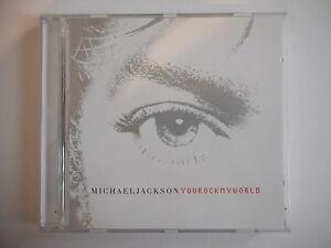 MICHAEL JACKSON : YOU ROCK MY WORLD ( 3 VERSIONS ) || CD SINGLE