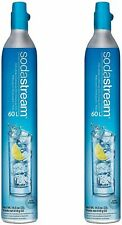 SodaStream 60 L Gas Refill Cylinders pour Soda Club - Lot de 2