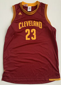 LeBron James Cleveland Cavs NBA Jersey Adidas 15-16 Youth Pre Owned #J7