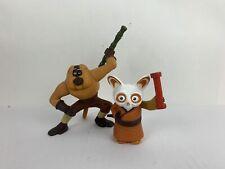Kung Fu Panda McDonalds Toys 2008 Master Shifu & Monkey Figures