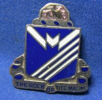 WWII 38th Infantry Regiment The Rock Of The Marne DI Unit Crest Pin by Meyer