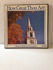 How Great Thou Art-Music Of Faith And Inspiration 5 Record Box Set