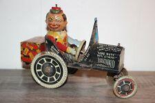 Vtg Antique MARX JOY RIDER CAR Wind Up Tin Litho Toy