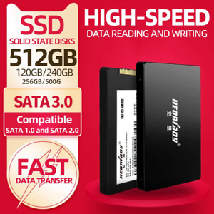 SSD 2.5'' 120GB 240Go 500Go 1To 6gb/s SATA 3 interne Solid State Disque dur