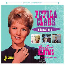 Petula Clark : Tete a Tete: Three Classic Albums Plus Bonus Tracks CD (2017)