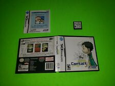 Contact Nintendo DS TESTED AUTHENTIC VERY GOOD COMPLETE CIB Atlus