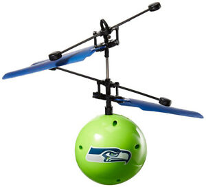 Forever Collectibles NFL Seattle Seahawks Team Ball FC Flyer Toy