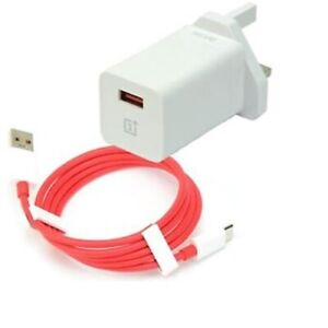 Genuine OnePlus UK/EU 6T 6 5T 5 3T 3 USB Type-C Charger 4Amp Adapter & or Cable