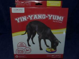 Yin-Yang-Yum! Dog Toy Puzzle Kyjen #2746 T9