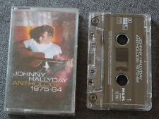 Johnny Hallyday, Anthologie 1975-84 , K7 audio / Audio tape