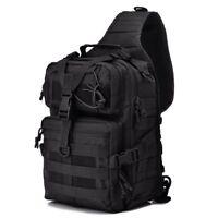 Military Tactical Bag Men Shoulder Bag Messenger Bags Travel  Sling Chest Pack