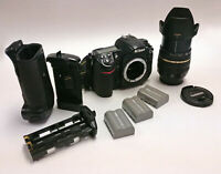 Nikon D300S bundle - grip, Tamron lens, case, batteries - readykit for beginners