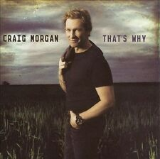 FREE US SHIP. on ANY 3+ CDs! USED,MINT CD Craig Morgan: That's Why Extra tracks