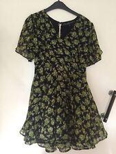 Short Sleeve Mini Dresses Petite Skater