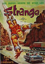 RARISSIME EO 5 DÉCEMBRE 1972 STAN LEE + REVUE STRANGE N° 36 (  SUPERBE ÉTAT  )