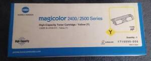 Konica Minolta 2400/2500 Series High Capacity Yellow Toner Cartridge (Type: AP)