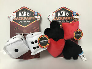 Bark Box JACKPAWT Dog Toy Bundle XS-M Size-NEW W/ TAGS!