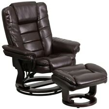 Flash Furniture Brown Bonded Leather Recliner, Brown - BT-7818-BN-GG