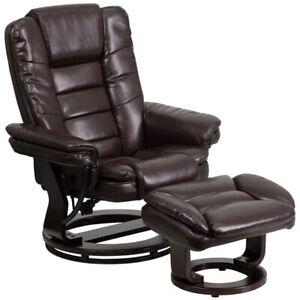 Flash Furniture Brown Bonded Leather Recliner, Brown - BT-7818-BN-GG