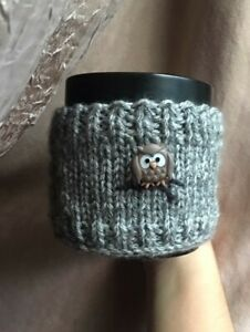 Knitted Coffe cozy