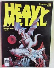 HM Communications- HEAVY METAL The Adult Fantasy Magazine - Dec 1978 - Hi-Grade