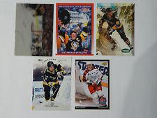 Mario Lemieux Pittsburg Penguins cards Lot of 5