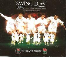 UB40 Swing Low w/ DESTRUCTIVE DUB England Rugby UK CD Single SEALED USA Seller