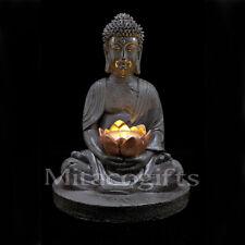 New Solar Buddha Light- Garden Ornament Statue- 30cm