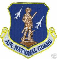AIR FORCE USAF NATIONAL GUARD COMMAND AUTHENTIC PATCH